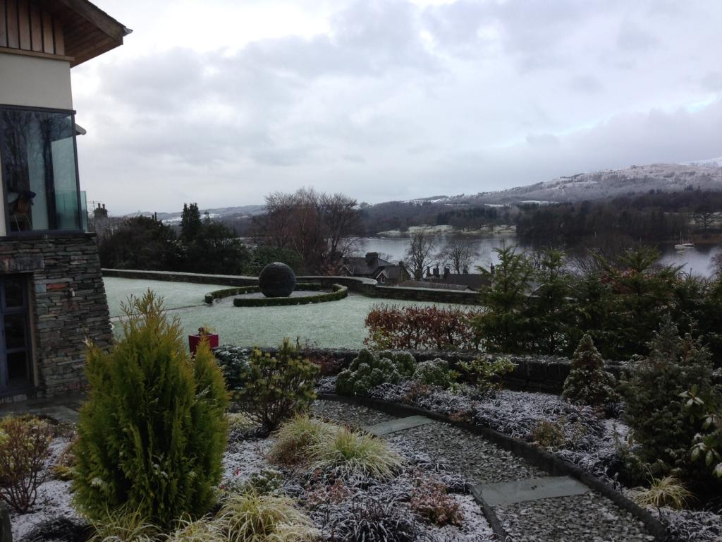 Winter gardens in the lake district landscape gardeners for Winter garden