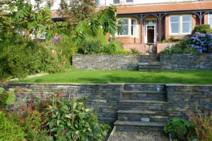 After landscaping work  kirkby in furness cumbria